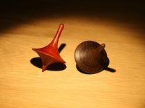 Волчок деревянный (из ценных пород дерева)