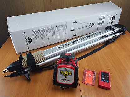 Лазерный ротационный нивелир ADA Rotary 400 HV Ser