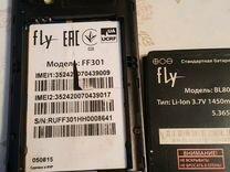 Телефон на запчасти Fly ff301